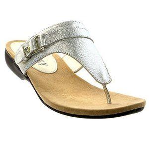 Lauren Ralph Lauren Kendra Leather Thong Sandals